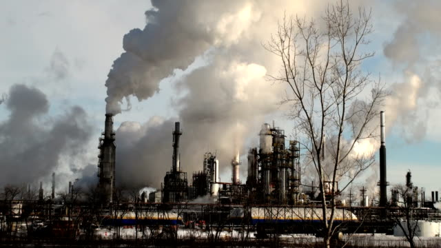 oil refinery - greenhouse stock videos & royalty-free footage
