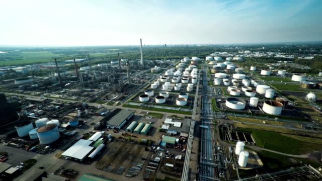 AERIAL: Oil Refinery