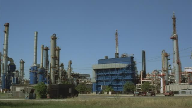 ws, oil refinery - 1996年点の映像素材/bロール