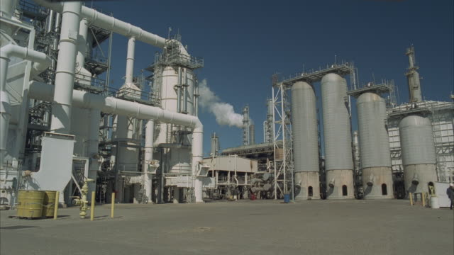 ws, oil refinery - 1996 stock videos and b-roll footage