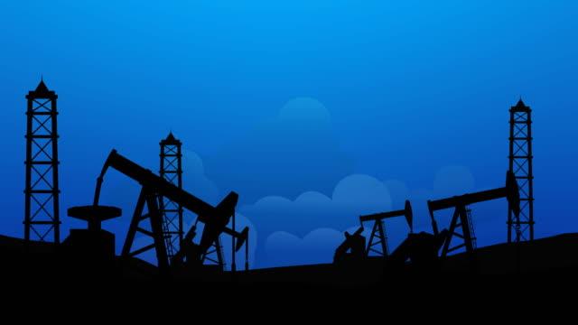 vídeos de stock e filmes b-roll de oil refinnery, oil field pump - preço