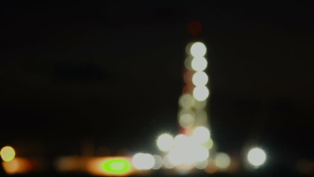 oil rig in the night blurred motion - power cable stock videos & royalty-free footage