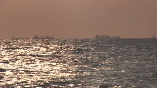 oil ships in the persian gulf - oman flag stock videos and b-roll footage