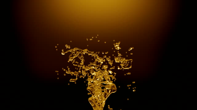 oil splash with alpha - spray stock videos & royalty-free footage