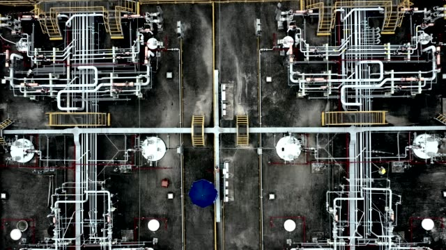oil storage tank in the port in tsing yi, hong kong - oil industry stock videos & royalty-free footage