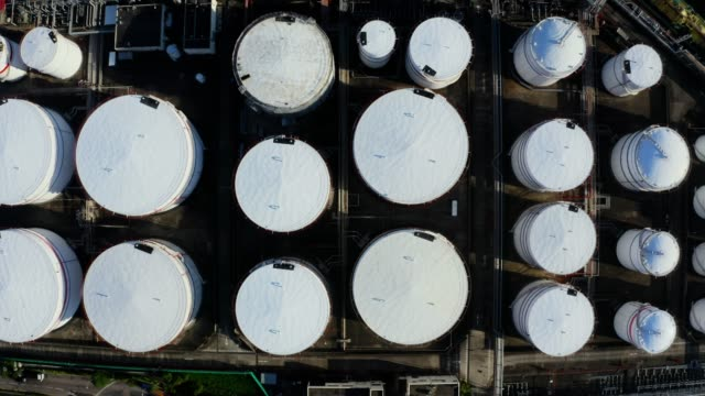 oil tank in hong kong, china - pipeline stock videos & royalty-free footage