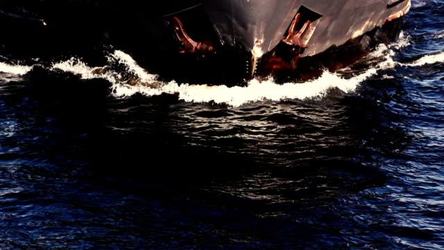 vídeos de stock e filmes b-roll de petroleiro - ancorado