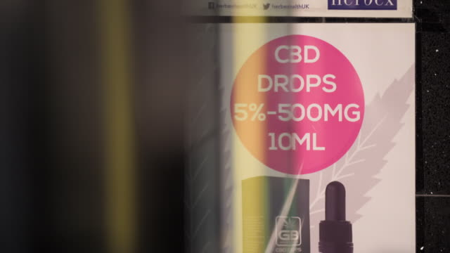 cbd oils available to buy in shops - law stock videos & royalty-free footage