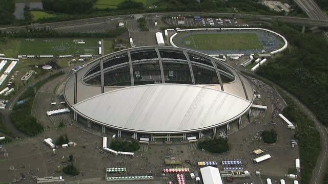 AERIAL, Oita Stadium, Oita, Japan