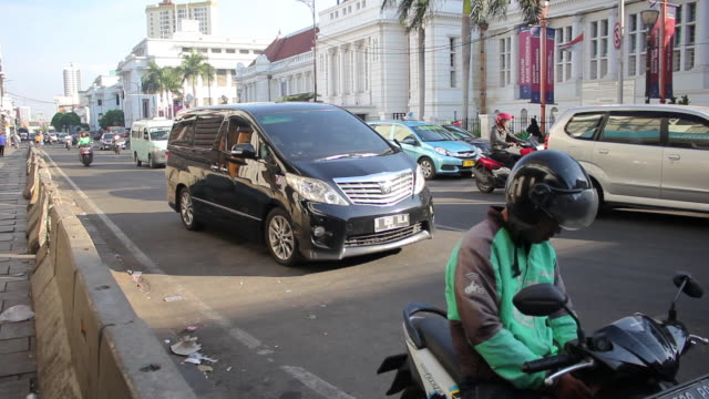 ojek online in jakarta - driver's license stock videos and b-roll footage