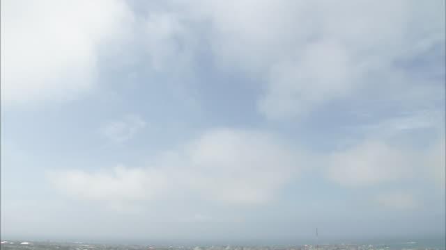vidéos et rushes de okinawa ishigaki island - inclinaison vers le bas