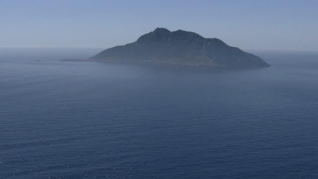 vídeos y material grabado en eventos de stock de aerial, okinoshima island, fukuoka, japan - cayo