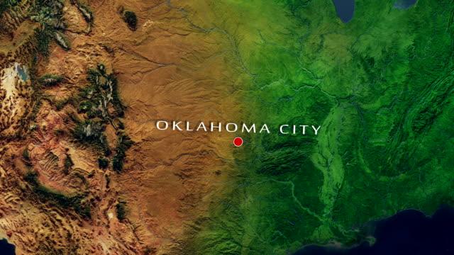 Oklahoma City 4K Zoom In