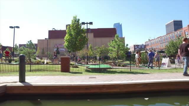 Oklahoma city canal tour