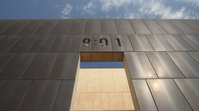 9:01 oklahoma city memorial - alfred p. murrah federal building stock videos & royalty-free footage