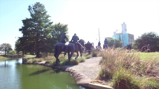 oklahoma city tour - animal representation stock videos & royalty-free footage