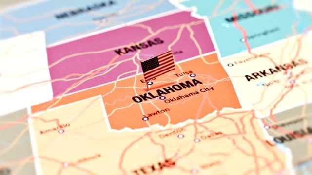 oklahoma from usa states - oklahoma stock videos & royalty-free footage