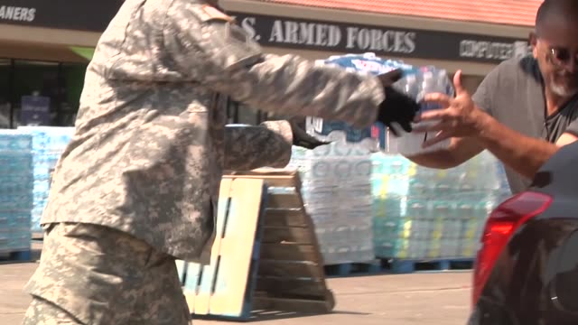 oklahoma national guardsmen from task force 179 support the texas national guard and other state and federal agencies in the aftermath of hurricane... - national guard stock videos and b-roll footage