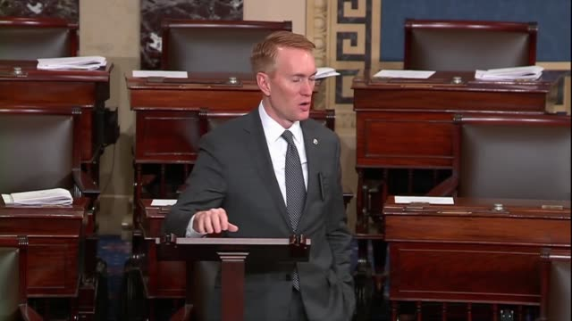 oklahoma senator james lankford says if congress is in session every single day members will eventually say if a budget or appropriations are not... - {{ contactusnotification.cta }} stock videos & royalty-free footage