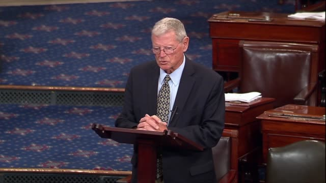 Oklahoma Senator Jim Inhofe says he was on the committee that with the confirmation for NASA Administrator Jim Bridenstine he had never seen a smear...