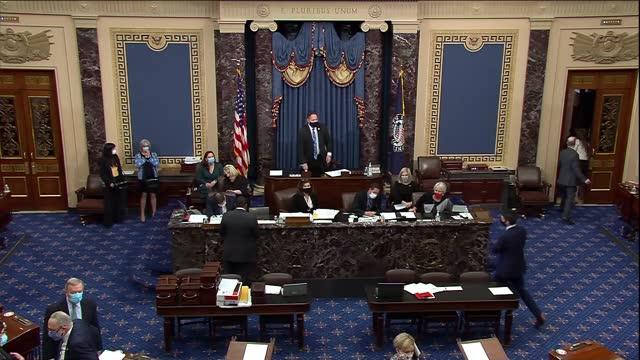 oklahoma senator jim lankford says after senate retreat to debate objection to electoral college ballot count for joe biden from arizona that some... - arizona stock-videos und b-roll-filmmaterial