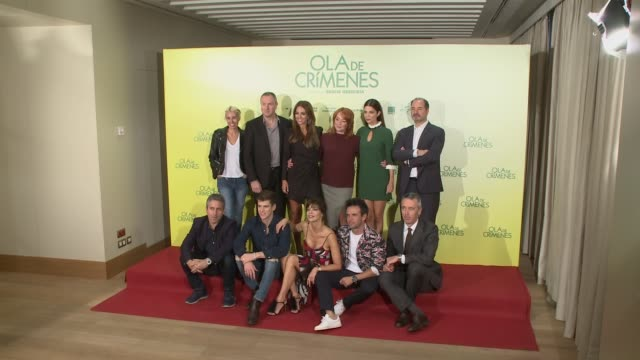 'Ola de Crímenes' Photocall