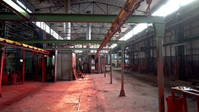 old abandoned factory - absence stock videos & royalty-free footage