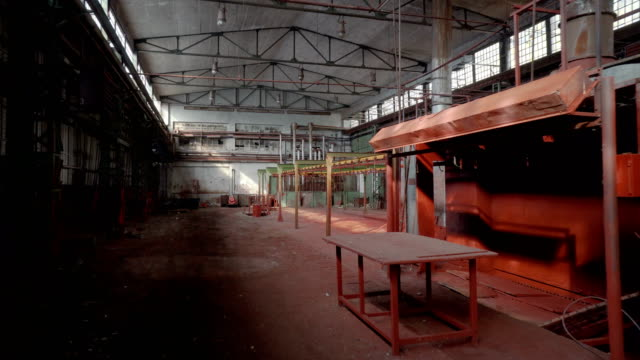 old abandoned factory - weathered stock videos and b-roll footage