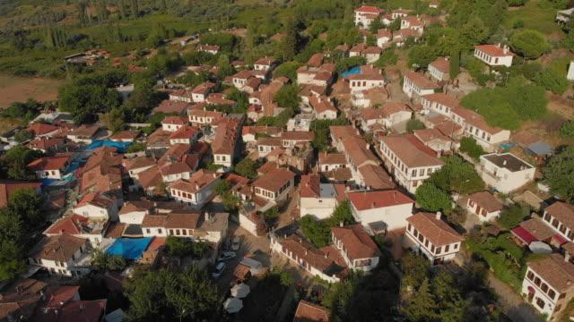 old aegean village sirince in izmir, turkey - izmir stock videos & royalty-free footage