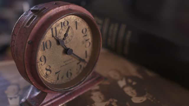 old alarm clock - eternity stock videos & royalty-free footage