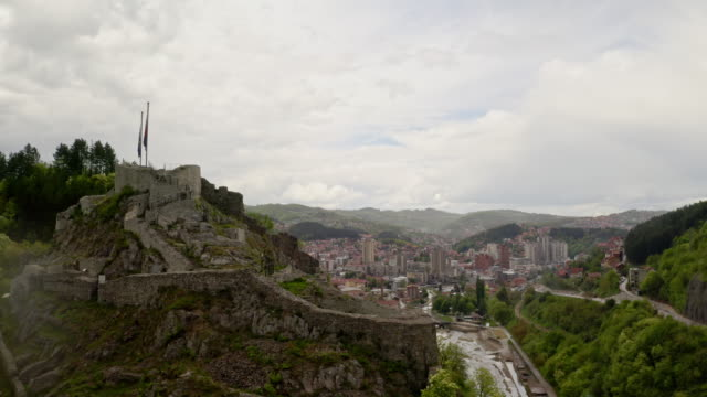 old and new city uzice, serbia - south stock videos & royalty-free footage