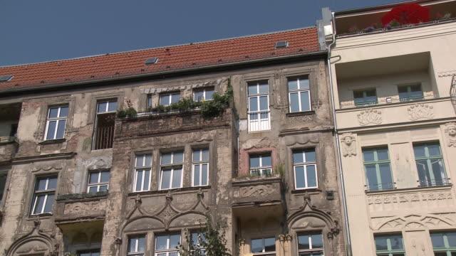 MS, LA, PAN, Old apartment buildings, Berlin, Germany