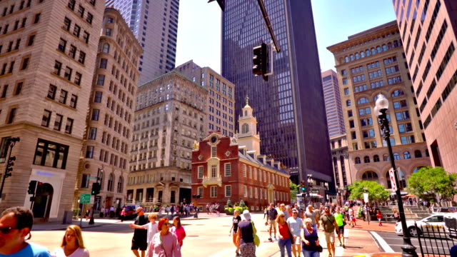 alte architektur - boston massachusetts stock-videos und b-roll-filmmaterial