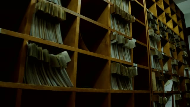 old archive - filing cabinet stock videos & royalty-free footage