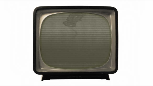 old bad tv picture - cathode ray tube stock videos and b-roll footage