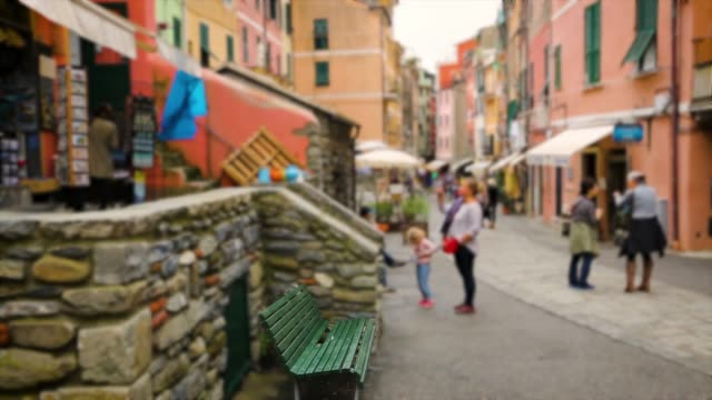 old beautiful streets with in coastal village in cinque terre, italy - five objects stock videos & royalty-free footage