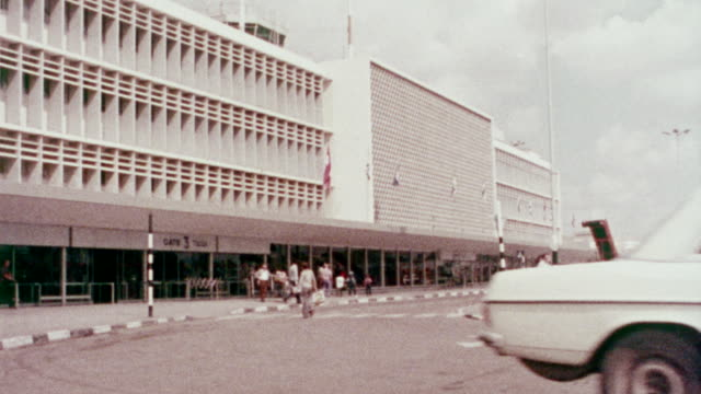 1978 old ben gurion airport - 1978 stock videos and b-roll footage