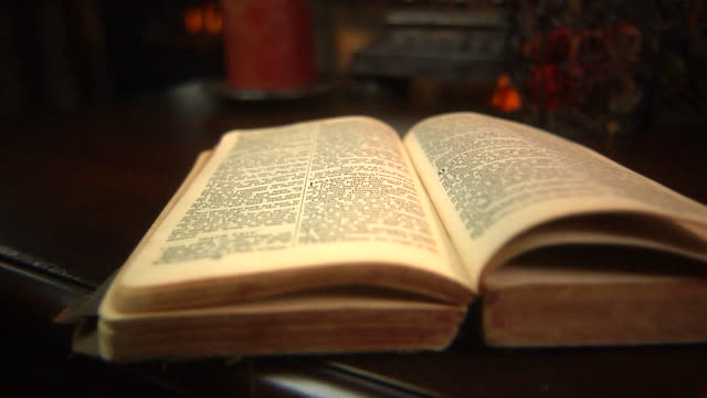 old bible - bible stock videos & royalty-free footage