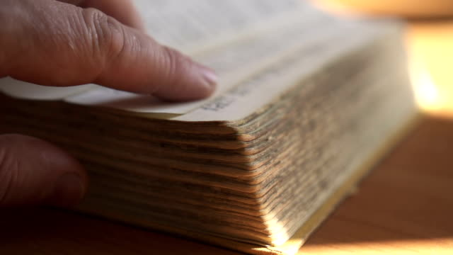 old book - bible stock videos & royalty-free footage