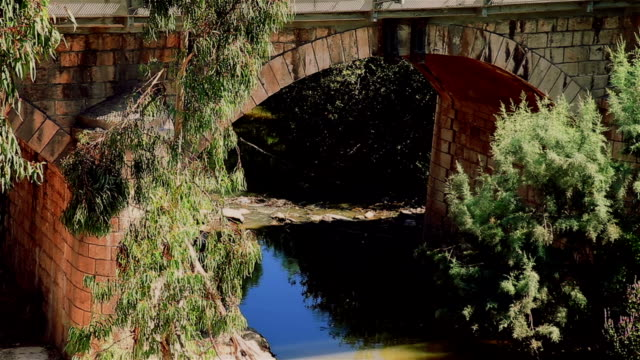 old bridge above river - arch bridge stock videos & royalty-free footage