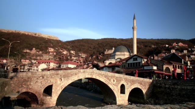 vidéos et rushes de old bridge and dome(photographic slide) - culture de l'europe de l'est