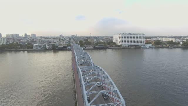 古い橋  - チャオプラヤ川点の映像素材/bロール