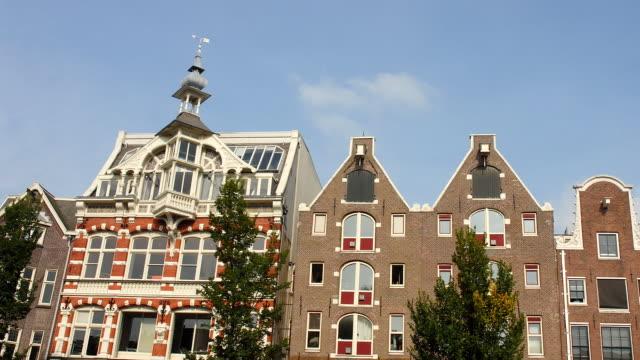 T/L, MS, LA, Old buildings, Amsterdam, North Holland, Netherlands