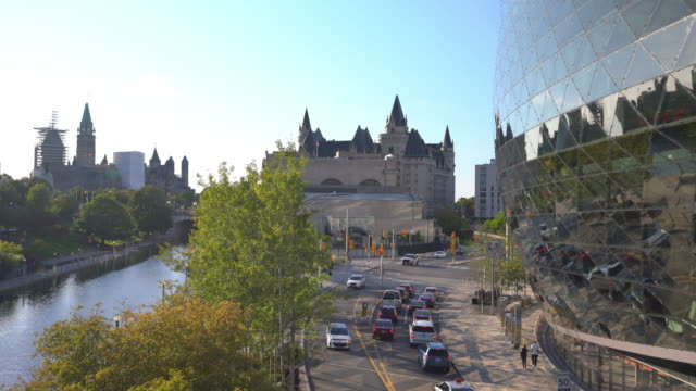 old buildings in downtown ottawa - ottawa stock videos & royalty-free footage