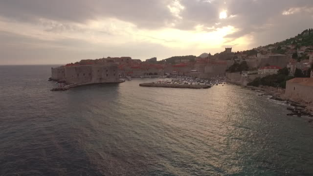 old buildings in dubrovnik - boundary stock videos & royalty-free footage