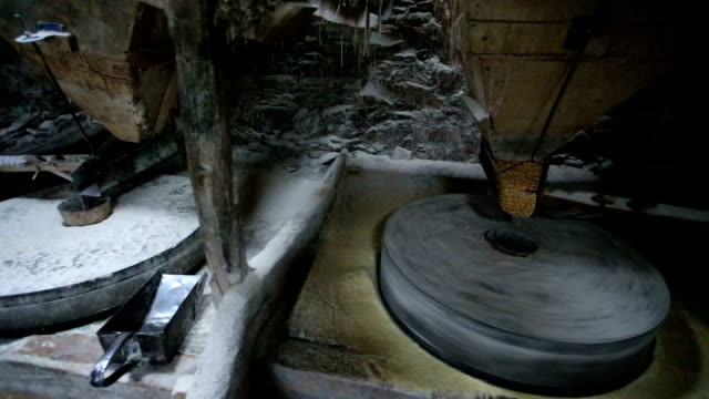 old but gold - watermill stock videos & royalty-free footage