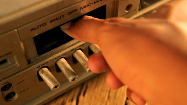 old cassette tapes and cassette player - over 80 stock videos and b-roll footage