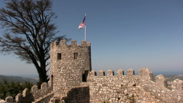 vídeos y material grabado en eventos de stock de viejo castillo - ruina antigua