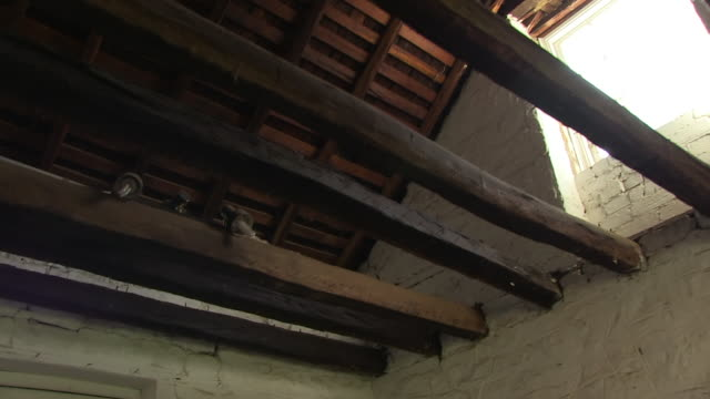 old ceiling of a ranch house - ranch house stock videos & royalty-free footage
