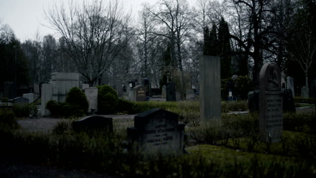 stockvideo's en b-roll-footage met old cemetery wide - dood begrippen